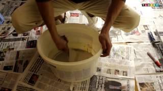 Kako ručno pripremiti glet masu
