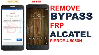 FRP BYPASS ALCATEL FIERCE 4 5056W ANDROID 6.0