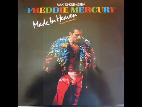 Freddie Mercury  - Made In Heaven (Extended Remix)
