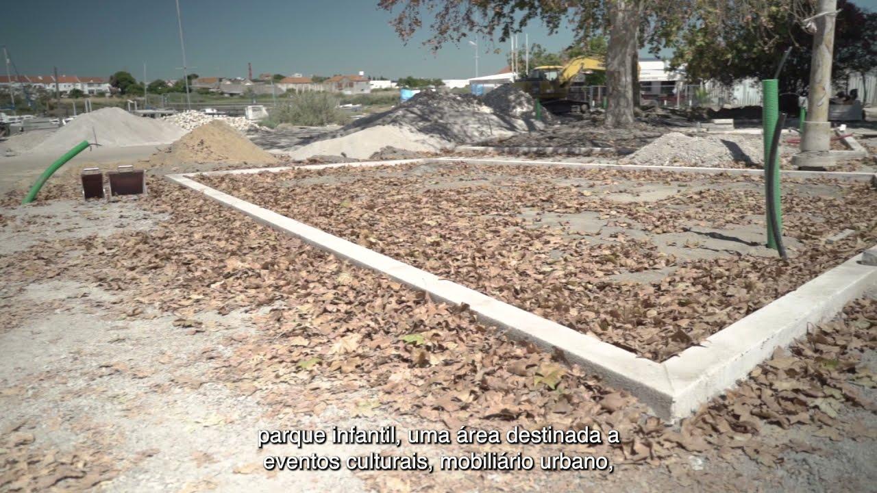 Alhos Vedros: Requalificação paisagística do Largo do Descarregador