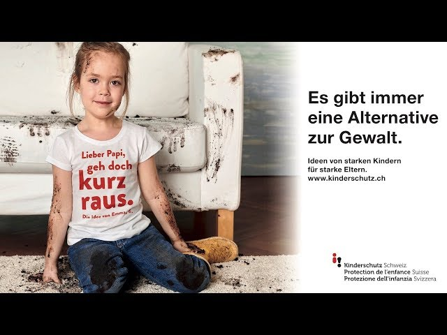 Kinderschutz Schweiz Kampagne