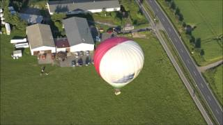 preview picture of video 'Ballonstart in Oschatz aus der anderen Perspektive am 12.06.2013'