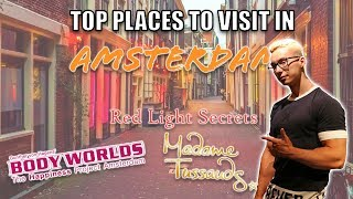 TOP PLACES TO VISIT IN AMSTERDAM | RED LIGHT DISTRICT TOUR