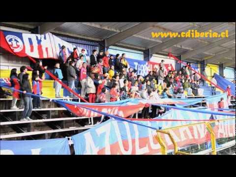 """Banda Azulgrana - Osorno 2011"" Barra: Banda Azulgrana • Club: Deportes Iberia"