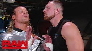 Dolph Ziggler tries to get inside Dean Ambrose's head: Raw, Sept. 24, 2018 - Video Youtube