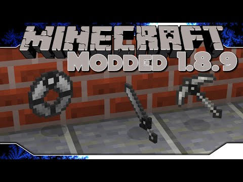 Modded Minecraft 1.8.9 ~ Ep 11 ~ Modular Tools & Pack Update!