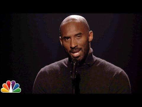 Kobe Bryant Performs Slam Poem About Steve Urkel