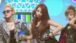 EXID - Whoz That Girl, 이엑스아이디 - 후즈 댓 걸, Music Core 20120303