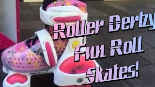 Roller Derby Fun Roll Adjustable Roller Skate