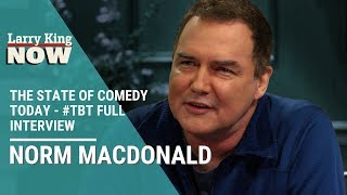 Norm Macdonald on The State of Comedy Today and 'Saturday Night Live' - #TBT