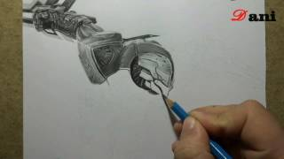 Pencil Drawing : Project Zed