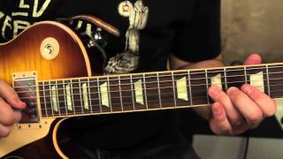 Led Zeppelin - Black Dog - How to Play on Guitar - Main Riff - Guitar Lesson