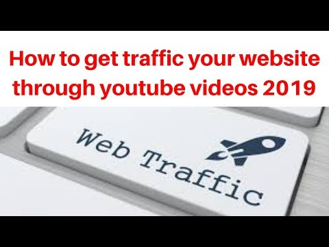 How to get traffic your website through youtube videos 2019