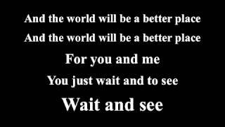 Put a Little Love In Your Heart (lyrics) sing along
