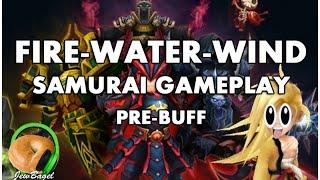 summoners war hoh water samurai kaz b 1 2 full auto gao most