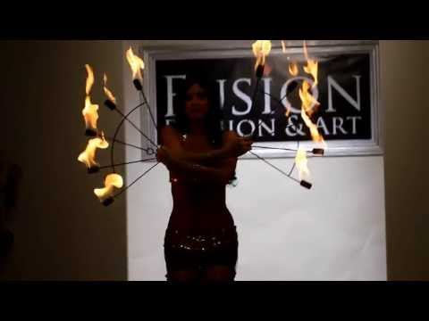 Belly Dance Fire fusion