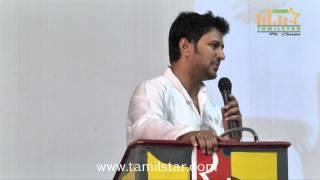 Actor Raja and Amritha Press Meet