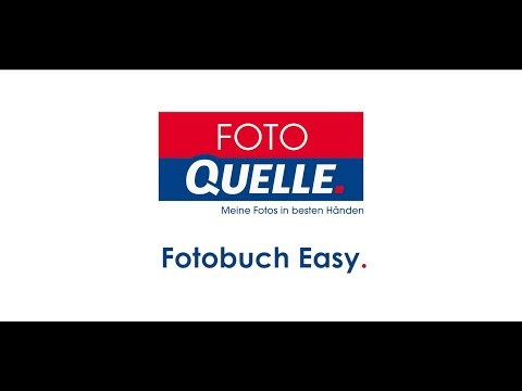 Video-Tutorial zum Fotobuch Easy von Foto Quelle