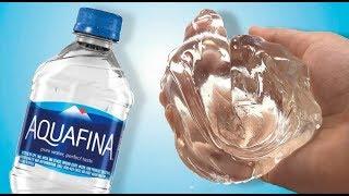 WATER SLIME! 💦 Testing NO GLUE Water SLIME!