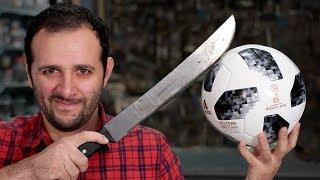 O que tem dentro da bola oficial da Copa 2018? #OQueTemDentro - Video Youtube