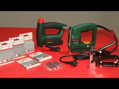 Uso de la grapadora manual y eléctrica - Bricomania