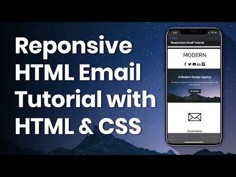HTML Email Template Tutorial - Start to Finish with HTML & CSS