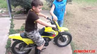 Mini motorcycle racing kids