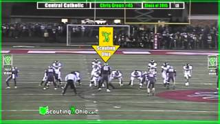 OH 2015 Chris Green- Central Catholic- So Yr- LB45