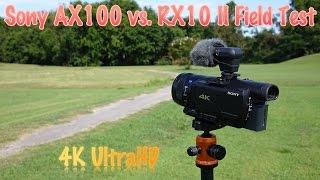 Sony rx10 II 4K test - Night/Day 4K sample video,photos,slow