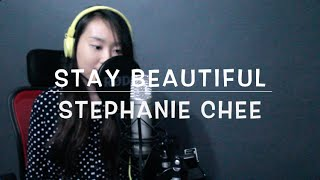 Stay Beautiful - Taylor Swift (Cover) Stephanie Chee
