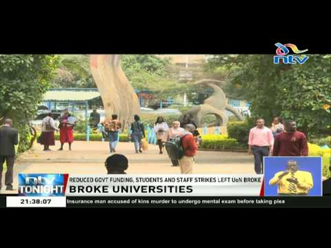 Public and private universities face a serious financial crisis due to reduced government funding