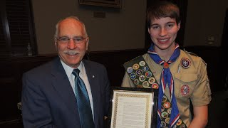 Michael Earned All Of The Merit Badges #AAC100