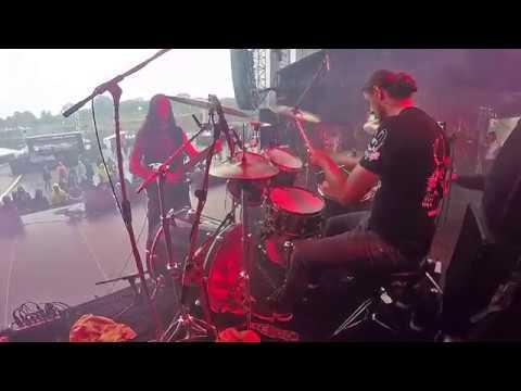 "Doomas - Erik Sabo DOOMAS ""God Liar"" - Live Shots & Drum Cam 11.08.2017 B"