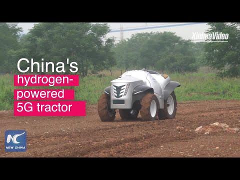 Kinezi predstavili prvi pametni 5G traktor na vodonik (VIDEO)