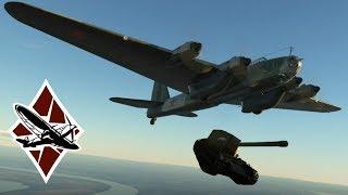 War Thunder Pe8