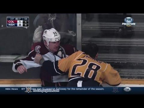 Paul Gaustad vs. Cody McLeod