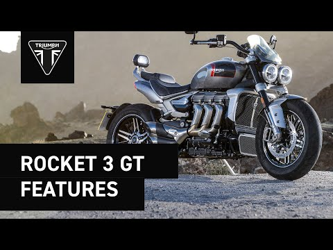 2021 Triumph Rocket 3 GT in Shelby Township, Michigan - Video 3