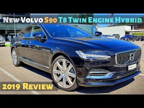 New Volvo S90 T8 Twin Engine Hybrid 2019 Review Interior Exterior