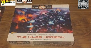 Beyond the Gates of Antares Unboxing Warlord Games