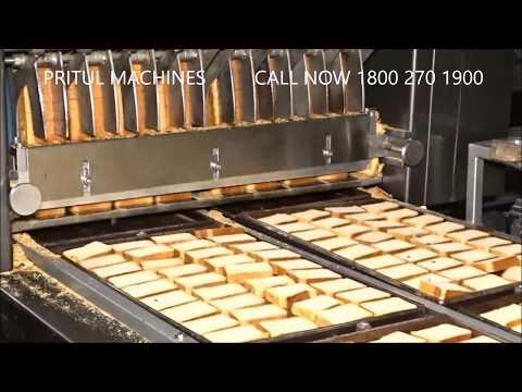Rusk Panning Machines