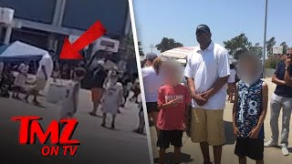 NBA Star Robert Horry Throws Punches At His Kid's Basketball Game! | TMZ TV