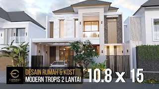 Video Mrs. Wenny Modern House 2 Floors Design - Jakarta
