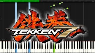 Tekken 7 - Solitude (Main Menu Theme) | Synthesia Piano