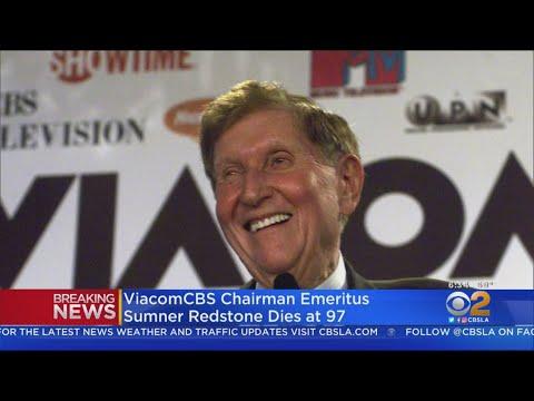Media Legend Sumner Redstone Dies At 97