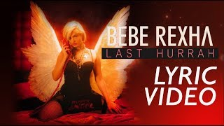 Bebe Rexha - Last Hurrah - Karaoke Lyric Video | 6CAST