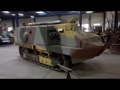 Schneider CA1 Tank back on tracks 99 years later