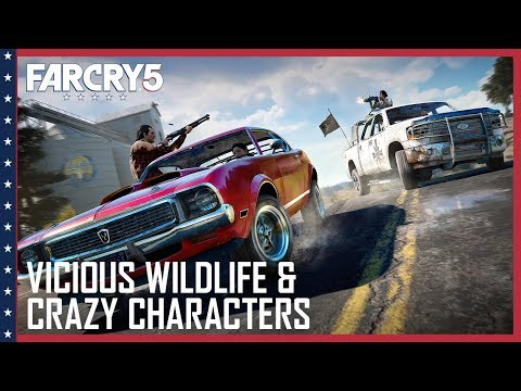 Vicious Wildlife, A Crazy Cast of Characters, and Co-Op Hijinks
