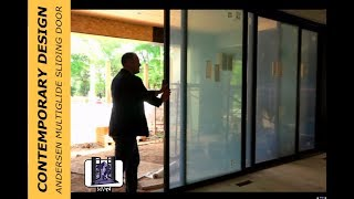 The First Andersen Architectural Collection MultiGlide Sliding Door Installed in Colorado!