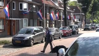 Vlaggen Halfstok In Mechtildisstraat Tilburg