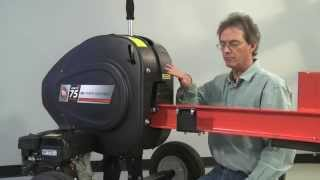 DR Log Splitter - Belt Maintenance